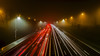 Traveling home for Christmas (Craig Hannah) Tags: travel travelinghomeforchristmas christmas manchester greatermanchester oldham m62 longexposure lightpainting lighttrails traffic craighannah 2017 december home motorway fog england uk cars