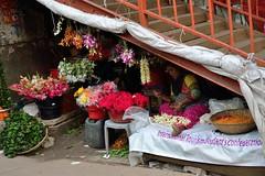 Bangladesh 9436 (blackthorne57) Tags: bangladesh flowerseller cutflowers garlands