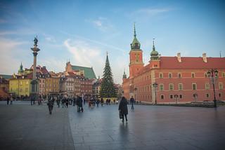 Warsaw, Poland - Merry Christmas