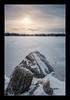 Verona Rock Lake (Adam C Images) Tags: fuji xt2 fujinon 1655 r lm wr weather resistant f28 ice lake frozen snow landscape sun nisi filters velvia v5 filter holder polarizer pro verona rock south frontenac township ontario canada winter morning sunrise