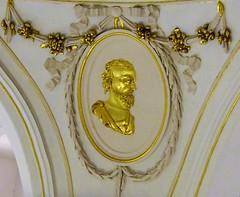 (:Linda:) Tags: germany thuringia town hildburghausen rococo oval man portrait golden christuskirche church looking´golden´