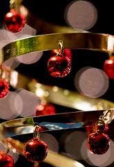 Spirals and Circles (really_late_bloomer) Tags: christmas ornament macro macromonday memberschoicebokeh
