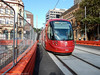 2017, the highlights - April, Light rail at George and Hay Streets (john cowper) Tags: sydneylightrail lrv2115 lrv2122 haystreet georgestreet haymarket transportfornsw sydney newsouthwales