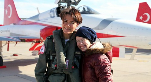Turkish Stars first female pilot leader & Mother of two
