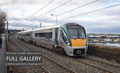 Ireland trip, 19 December 2017. (MKT Transport Photo- mkttransportphoto.smugmug.com) Tags: irish rail iarnrod eireann 22000 class railcar dublin dun laoghaire rosslare dmu hyundai 3car icr 22061 22361