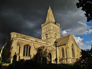 St Kyneburgha's Church, Castor, Cambridgeshire, England.