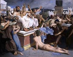 Pheidippides, a greek sportsman, gives word of victory after the Battle of Marathon (Historystack) Tags: ancientgreece sport athens historyofgreece earth europe 5thcenturybc september2 solarsystem society pheidippides marathons year490bc 490sbc milkyway