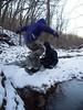 New Years Eve Hike (Mulewings~) Tags: awesomecreek creekadventure newyearseve hikingwithfriends coldhike winter water jumping kids fun