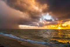 STORM AT SUNRISE (The Suss-Man (Mike)) Tags: atlanticocean clouds florida lakeworth lakeworthbeach lakeworthcasino lakeworthpier nature ocean palmbeachcounty pier sky sonyilca77m2 storm sun sunrise sussmanimaging thesussman water