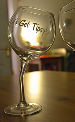 lets get tipsy! (conall..) Tags: wine glasses novelty lets get tipsy letsgettipsy