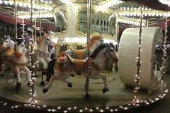 Horses (polletjes) Tags: horses paardpaarden draaimolen colours kleuren lampjes lichtjes lights speelgoed play fun