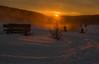 Goodbye 2017 (Deutscher Wetterdienst (DWD)) Tags: himmel sky sonnenuntergang sunrise abendstimmung eveningatmosphere eveningsky winter schnee snow winterlandschaft winterlandscape aufwiedersehen goodbye