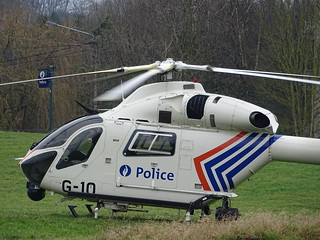 MD 902 G-10 Belgian Federal Police Stand Bye