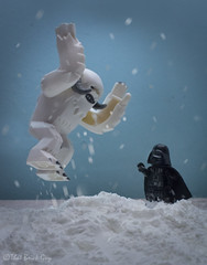 Wampa Choke (that_brick_guy) Tags: starwars star wars lego legostarwars legominifigures legominifigs minifigures minifigs empirestrikesback empire strikes back toyphotography toy photography macro hoth wampa snow ice cold winter force choke forcechoke dslr nikon d7200 nikkor 18g primelens prime lens closeup close up toystory story darthvader darth vader lastjedi last jedi sith