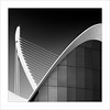Retallada III / Cut III (ximo rosell) Tags: ximorosell bn blackandwhite blancoynegro bw buildings arquitectura architecture abstract abstracció valencia llum luz light calatrava composició ciudaddelasciencias squares