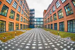 Fisheye (Guy Goetzinger) Tags: architektur offices zürich schweiz ch fisheye goetzinger facade fassaden outdoor symetric symetrisch ground architecture modern büro ubs 2018 d500 nikon