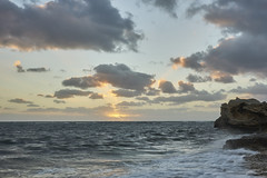 Point Peron Sunset (Stueyman) Tags: sony alpha a7 a7ii ilce zeiss za sel1635z wa westernaustralia australia sunset rocks ocean sky perth rockingham