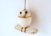 barn owl tree decoration (adore62) Tags: birds barnowl feltdecorations christmastreedecorations needlefelted