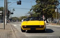 Old School (Andre.Siloto) Tags: ferrari 308 gts giallo amarelo yellow são paulo sp brasil brazil bra br nikon d3200 old school exotic car classic ctbaexotics 2017 motorgrid