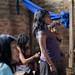 Oficina de Vigilância Alimentar e Nutricional na comunidade Sanomã