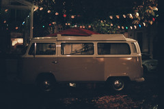 Time Capsule (Mimi_303b) Tags: volkswagen volkswagenvan van rv orange 60s 70s vanlife hippie hippielifestyle roots lights colors tinsel garland lighttinsels lightgarland minolta minoltasrt202 minoltasrt303b srt202 srt303b kodak kodakportra400 portra400 gipsy