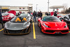 Stars Of The Show (Hunter J. G. Frim Photography) Tags: supercar colorado mclaren 675lt spider storm gray british grey v8 turbo rare mso carbon 675 lt mclaren675lt mclaren675ltspider convertible ferrari 458 speciale coupe rosso corsa italian limited ferrari458 ferrari458speciale rossocorsa