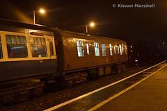3173 and 1505 at Maynooth, 16/12/17 (hurricanemk1c) Tags: railways railway train trains irish rail irishrail iarnród éireann iarnródéireann 2017 maynooth rpsi railwaypreservationsocietyofireland mark1 brvan gsv 3173