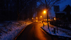 Winter Road (obscure.atmosphere) Tags: snow schnee nieve neige 雪 눈 frost frozen nacht night noche nuit 夜 밤 licht light ligero lumiere 光 빛 dusk abend 日没 일몰 twilight dämmerung 夕暮れ 황혼 winter invierno hiver 冬 겨울 deutschland germany hamburg stadt city town dorf road strase street mood atmosphere atmospheric atmosphäre atmosphärisch natur nature naturista naturaleza 自然 자연 wald forest bosque selva foret 森林 숲 woods baum bäume tree trees place ort darkness dunkelheit dark dunkel lonely lamps lampen
