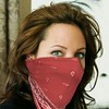 Angelina Jolie (photoshopped) #Gagged (Love Scarf Masks) Tags: gagged