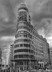 Edificio Carrión (edu_izu) Tags: madrid granvia edificiocarrión