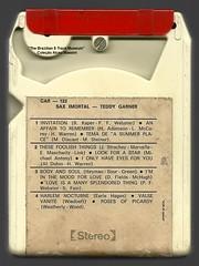 "1972 - Teddy Garner / Sax Imortal - brazil 8 track - fita cartucho de 8 pistas (""The Brazilian 8 Track Museum"") Tags: alceu massini vintage collection jazz cool jayme araújo severino lyrio panicali"