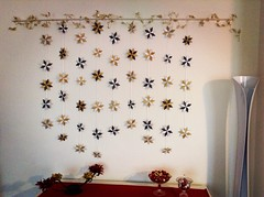 Una cascata di Stelle Lefty (mancinerie) Tags: origami modular paperfolding star mancinerie