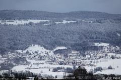 Villars-Burquin (jean-daniel david) Tags: jura montagne forêt suisse suisseromande neige hiver blanc village