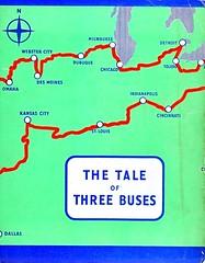 The Tale of Three Buses booklet 1952. (Ledlon89) Tags: london bus buses transport lt lte londonbus londonbuses londonbooks book booklet londontransport rt rtbuses aecregent leylandtitan