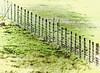 good fences make... (al-ien) Tags: fenceline fence diagonal viewsfromtheporch rurallife