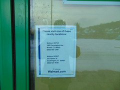 Abandoned Walmart Neighborhood Market (Bristol, Connecticut) (jjbers) Tags: bristol commons shopping plaza connecticut december 30 2017 abandoned walmart neighborhood market oakland vacant closed former shaws