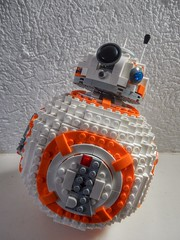 BB-8 (sander_sloots) Tags: lego starwars bb8 droid set 75187 bricks unit astromech arc welder