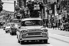 Life in the Mission (Thomas Hawk) Tags: america california chevrolet chevy flickrphotowalk kingofthestreets mission missiondistrict photowalk sanfrancisco sanfranciscolowridercouncilkingofthestreet usa unitedstates unitedstatesofamerica westcoast auto automobile bw car lowrider truck fav10 fav25