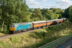 33108 at Highley 06.10.2012 (Wolfie2man) Tags: 33108 class33 highley crompton severnvalleyrailway svr