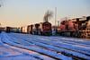 3,4, and 6 (BravoDelta1999) Tags: canadiannational cn railway canadianpacific cp rail milwaukeeroad milw railroad bensenville yard franklinpark illinois emd sd60 5409 471 manifest train ge es44ac 8820 17v norfolksouthern ns sd75m prlx 200 198 intermodal