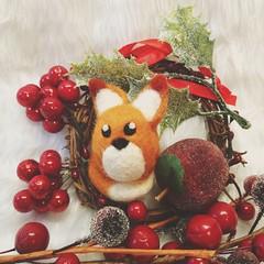 felted fox (Uniquekerer) Tags: needlefelted needlefelt fibreart handmade handcrafted decorations craft