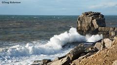 Pulpit Rock (DougRobertson) Tags: pulpitrock portland dorset uk england coast quarry rock scenery sea seaside water waves