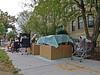 BostonWait2MoveIn (fotosqrrl) Tags: boston massachusetts streetphotography urban parkdrive fenway moving belongings boxes grocerycart