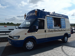 Ice cream van (danube9999) Tags: fordtransit icecream icecreamvan helixpark falkirk ford transit