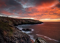 Cornish Sunset (Mousehole_Tom) Tags: cornwall sunset penwith fire mine works