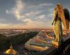 Angel's city (E G R A) Tags: russia россия санктпетербург ангел angel stpetersburg saintpetersburg cathedral city egra roofs stisaac город егра исаакиевский крыши петербург собор спб
