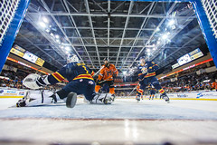 """Kansas City Mavericks vs. Colorado Eagles, December 16, 2017, Silverstein Eye Centers Arena, Independence, Missouri.  Photo: © John Howe / Howe Creative Photography, all rights reserved 2017. • <a style=""""font-size:0.8em;"""" href=""""http://www.flickr.com/photos/134016632@N02/24278195547/"""" target=""""_blank"""">View on Flickr</a>"""