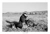 The last walk... (lupuszka) Tags: wife dogs grass autumn monochrome bw people animals analo film kodak tmax kodaktmax nikon fe transylvania romania