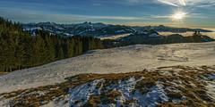Fin de journée sur la Gruyère (Switzerland ) (christian.rey) Tags: laberra gruyère préalpes fribourgoies fribourg montagnes mountains suisse swiss neige snow winter hiver sunset coucherdesoleil sony alpha a7r2 a7rii 1635