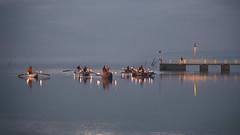 Santa Claus from the Lake (Cristiano Pelagracci) Tags: trasimeno lake water natale umbria christmas